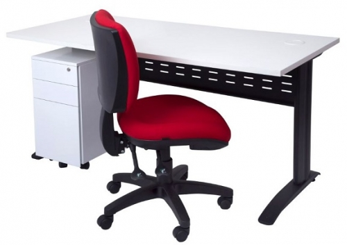 Modena Desk and Groove Chair