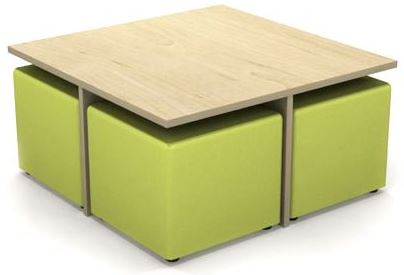 ... Quattro Table and Ottoman Set. ?; ?  sc 1 st  Ikcon : table and ottoman set - pezcame.com