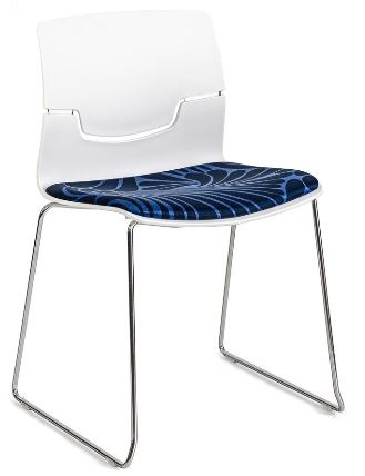 Affini Chair with Seat Pad Cushion