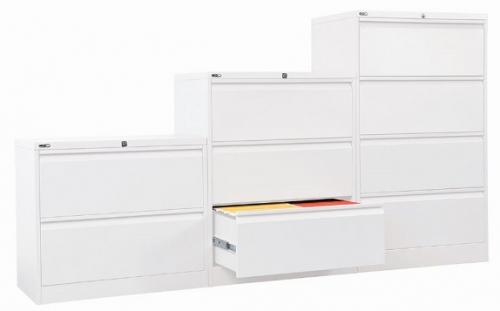 Alessi Heavy Duty Metal Lateral Filing Cabinets
