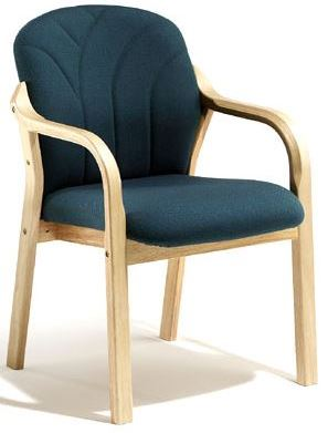 Arezzo Chair - Full Back, Straight Arms
