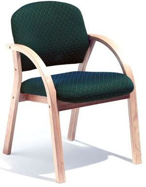 Arezzo Chair - Half Back, Drop Arms