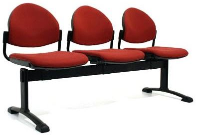 Bologne Curved Back 3 Seater Beam