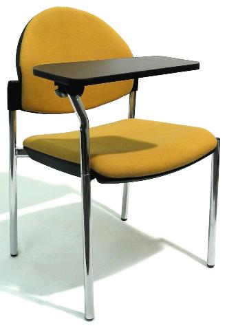 Bologne Chair with Swing Away Tablet Writing Arm Image 2
