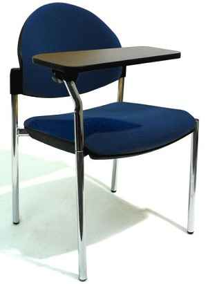 Bologne Chair with Swing Away Tablet Writing Arm