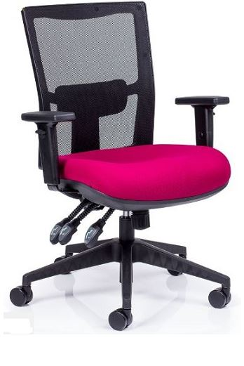 Breathe Super Heavy Duty Task Chair 160kg User Weight