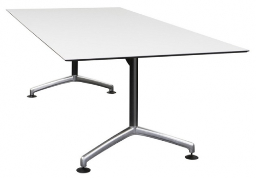 Candia Duo Meeting Table, Black Frame
