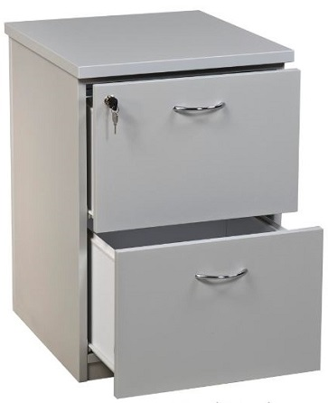 Carletti 2 Drawer Filing Cabinet