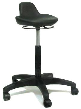Industrial Sit Stand Perching Chair