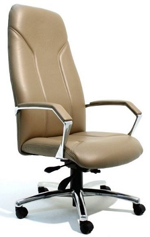 Madrid Premier High Back Executive Chair Leather
