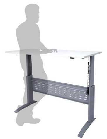 Modena Sit Stand Electronic Height Adjustable Desk