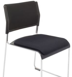 Renzo Chair with Seat and Back Cushion Pad