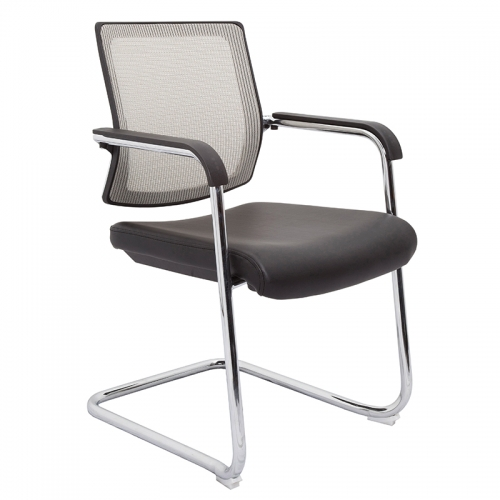 Ricci Chair, Silver Mesh Back