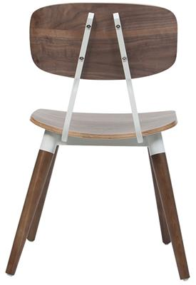 Alyce Timber Chair, Rear View