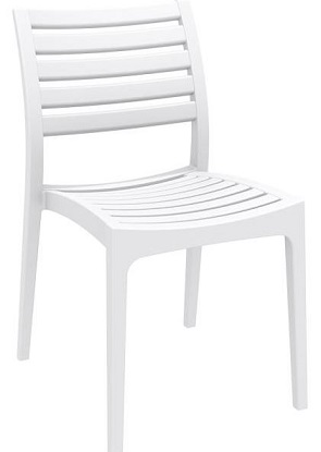 Danni Chair without Arms - White