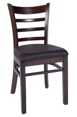 Flanders Timber Chair with Seat Pad