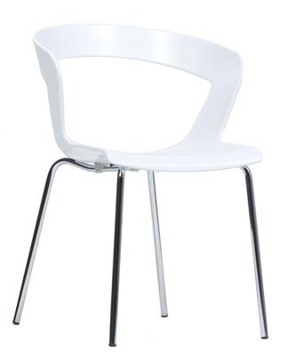 Georgie Chair - White