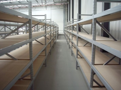 Levello Heavy Duty Long Span Archive Shelving Image