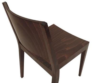 Lyon Timber Chair Rear View