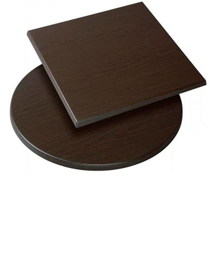 Moulded Cafe Style Table Top, Wenge