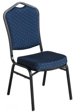 Sienna Function Room Chair - Blue Fabric