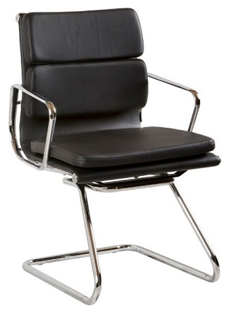 Zara Medium Back Chair with Cantilever Frame
