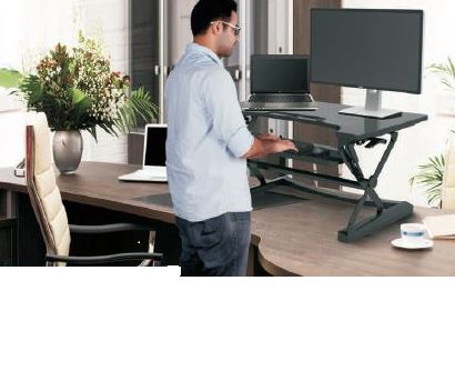 Rize Height Adjustable Desk Top Stand