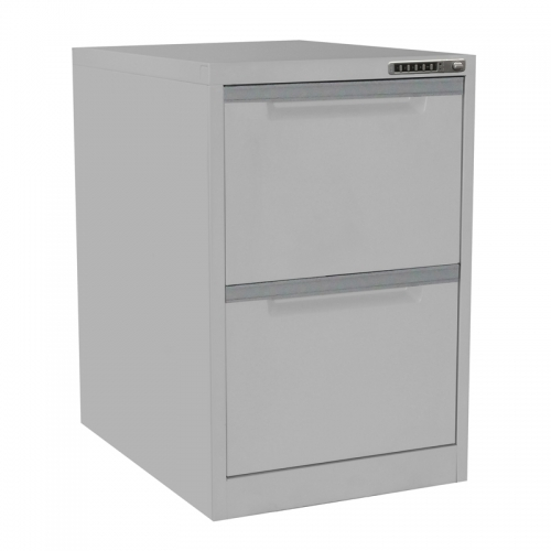 Electronic Secure 2 Drawer Filing Cabinet