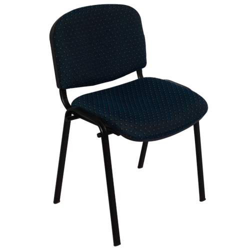 Liam Chair, Navy Fabric