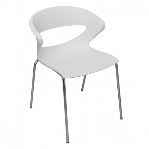 Prague Chair, White