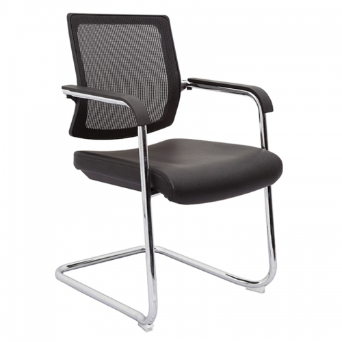 Ricci Chair, Black Mesh Back