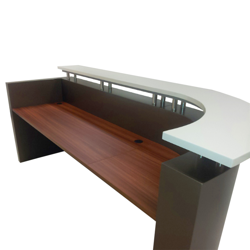 Roxy Reception Counter Desk Ikcon