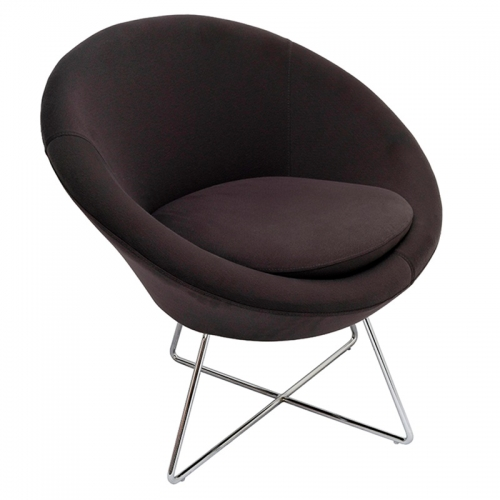 Sinclair Chair, Charcoal Fabric