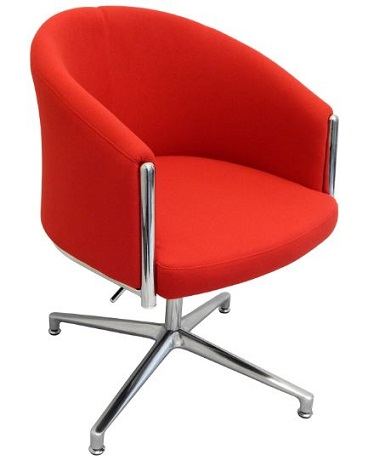 India Chair Red Fabric
