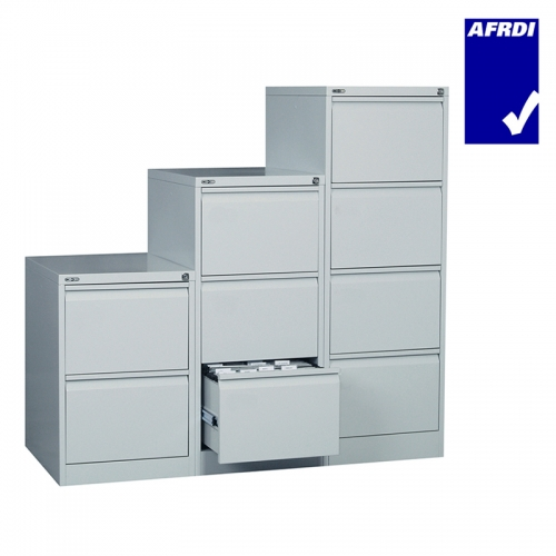 Alessi Heavy Duty Metal Vertical Filing Cabinets