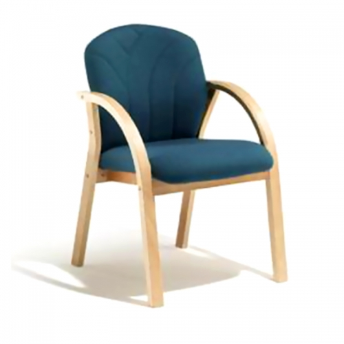 Arezzo Full Back Chair, Curved Arm