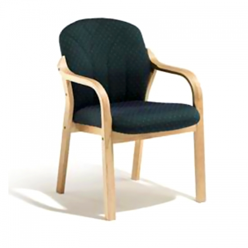 Arezzo Full Back Chair, Straight Arm