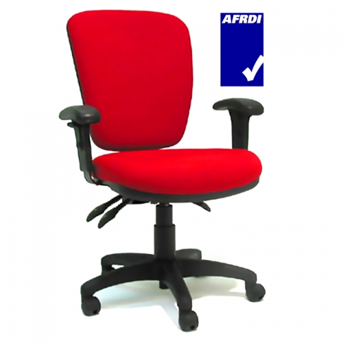 Biella High Back Chair with Height Adjustable Arms