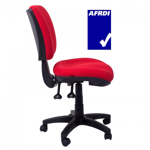 Groove Chair, Red