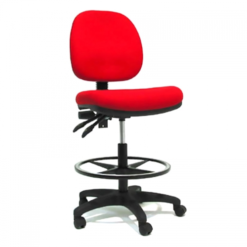 Lucca Medium Back Drafting Chair