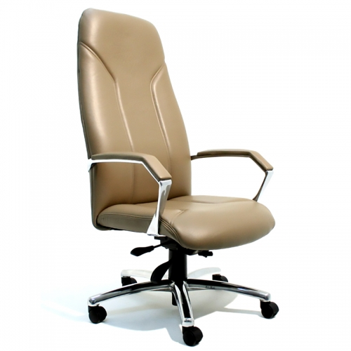 Madrid High Back Leather Chair