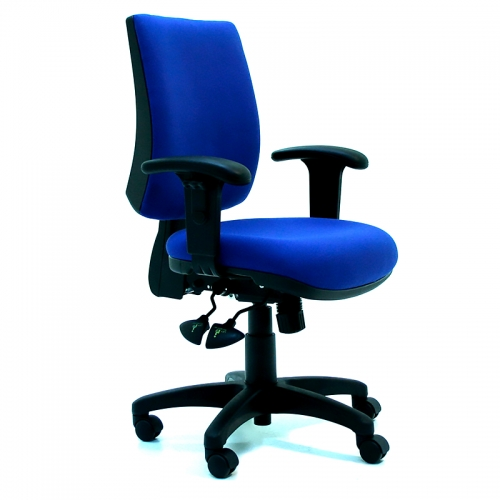 Trend Medium Back Chair with Arms