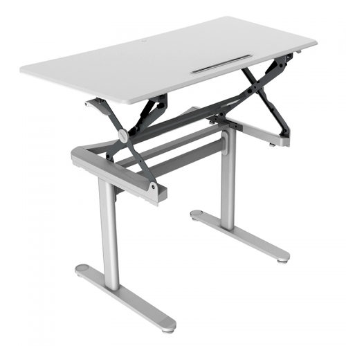 Move Height Adjustable Desk, Front Angle