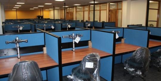 Insurance office furniture work