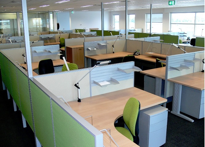 McCloud office furniture work