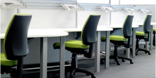 Optus office furniture work