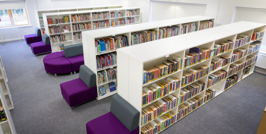 St Margaret's Library furniture work
