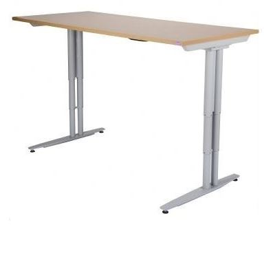 Lift Electric Push Button Height Adjustable Desk Range
