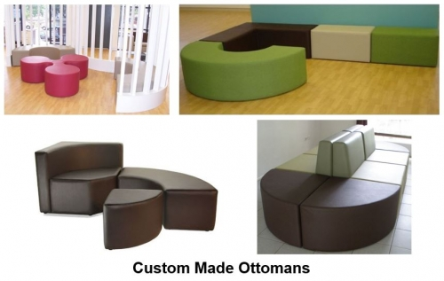 Custom Made Ottomans