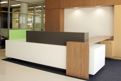 cool custom reception desk furniture | Custom Made Reception Desks | IKCON